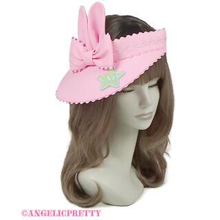 アンジェリックプリティー(Angelic Pretty)のJelly Candy Toys サンバイザー ピンク(その他)