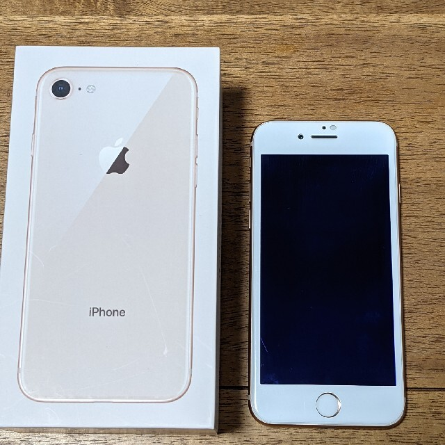 iPhone(アイフォーン)のiphone8 64gb 本体 スマホ/家電/カメラのスマートフォン/携帯電話(スマートフォン本体)の商品写真