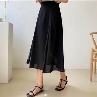 エンビールック(ENVYLOOK)のENVYLOOK-スリットフレアスカート-(ひざ丈スカート)
