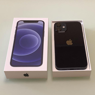 iPhone - iPhone  12mini 128GB ブラック SIMフリー