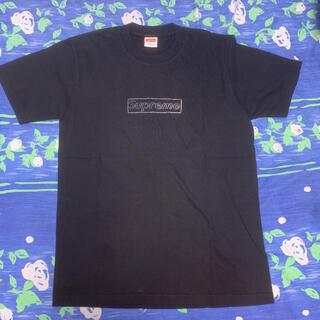 シュプリーム(Supreme)のsupreme kaws chalk tee box logo S(Tシャツ/カットソー(半袖/袖なし))