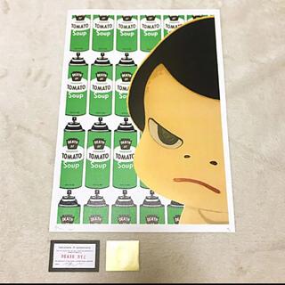 世界限定100枚 2020年 正規品 DEATHNYC 奈良美智 ロッタちゃん(絵画/タペストリー)
