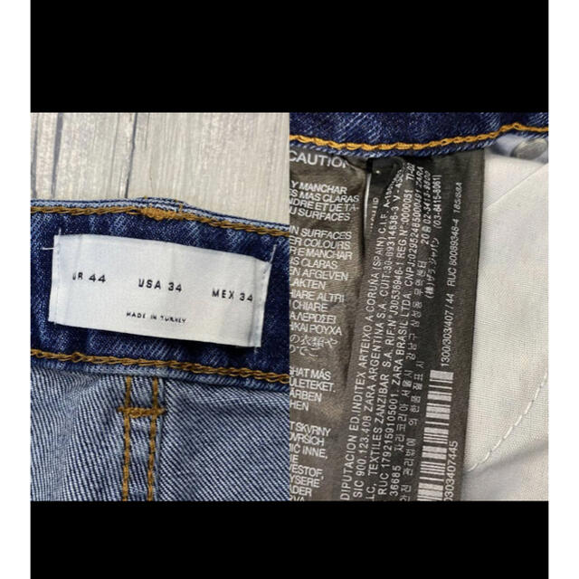 ZARA(ザラ)の 人気 ZARA MAN バイカースキニージーンズ メンズのパンツ(デニム/ジーンズ)の商品写真