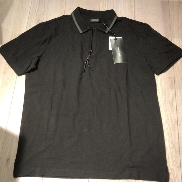 ZARA(ザラ)の新品 zara 半袖 ポロシャツ スウェット パーカー デニム ジョガーパンツ メンズのトップス(ポロシャツ)の商品写真