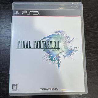 プレイステーション3(PlayStation3)のファイナルファンタジーXIII PS3(その他)