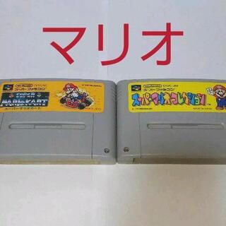 スーパーファミコン - ≪SFC・任天堂シリーズ≫マリオセット2本