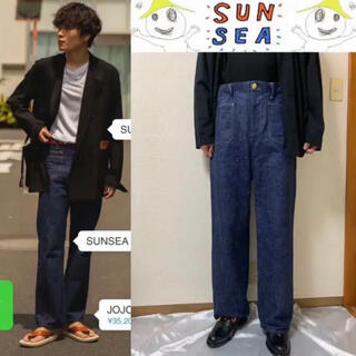 SUNSEA - SUNSEA 18ss denim pants