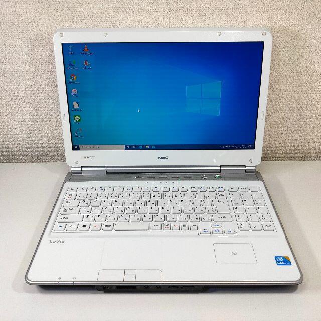 NEC(エヌイーシー)の【極美品】NEC LaVie ノートパソコン Corei5 (724) スマホ/家電/カメラのPC/タブレット(ノートPC)の商品写真
