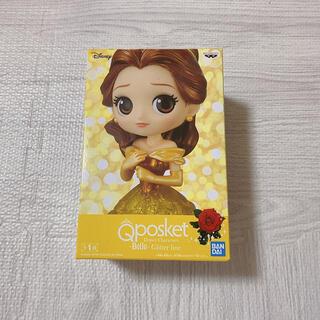 Disney - Qposket 美女と野獣 ベル フィギュア グリッターライン
