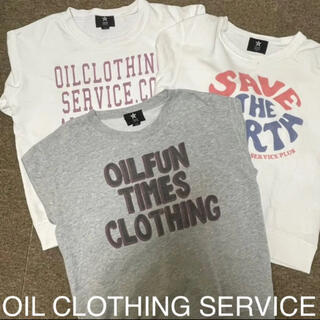 オイル(OIL)のOIL CLOTHING SERVICE 140cm 3点セット(Tシャツ/カットソー)