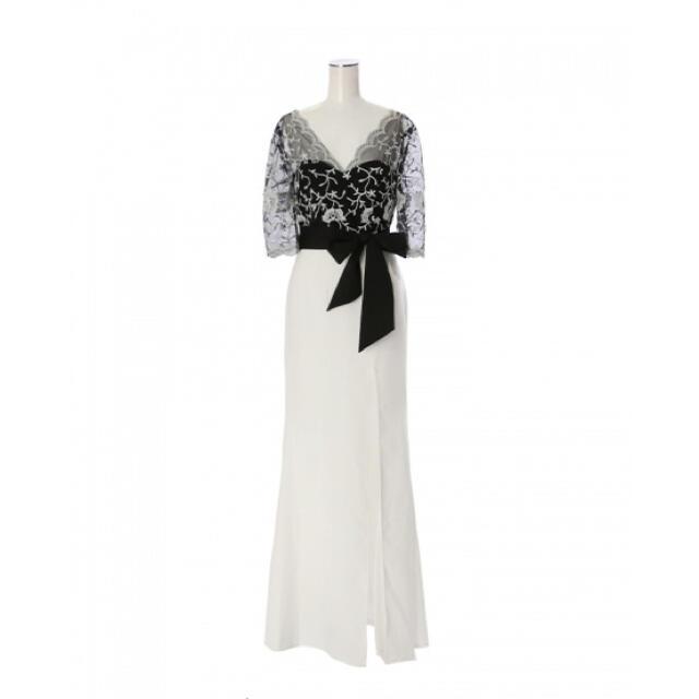 JEWELS(ジュエルズ)のJEWELS ロングドレス キャバドレス ドレス レース バイカラードレス レディースのフォーマル/ドレス(ロングドレス)の商品写真