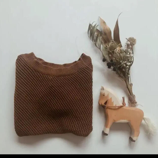 Caramel baby&child  - Summer puff knit*  brown