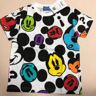 Disney - ディズニー ミッキー Tシャツ カラフル 120
