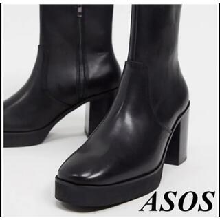エイソス(asos)のasos ヒールブーツ(ブーツ)