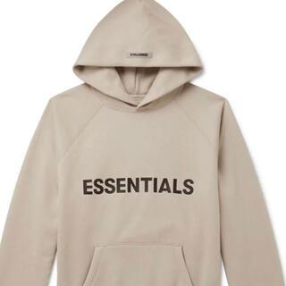 エッセンシャル(Essential)のessential パーカー タン ベージュ(パーカー)