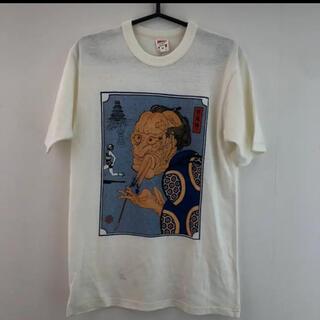 フリーホイーラーズ(FREEWHEELERS)の激レア FREEWHEELERS NIKE ナイキ 芸者 浮世絵 Tシャツ(Tシャツ/カットソー(半袖/袖なし))