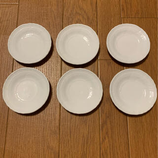Richard Ginori - リチャードジノリ ベッキホワイト 小皿 6枚セット