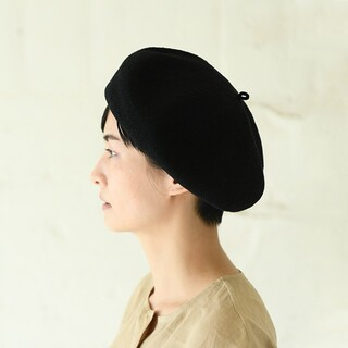 中川政七商店♡麻ニットリネンベレー帽