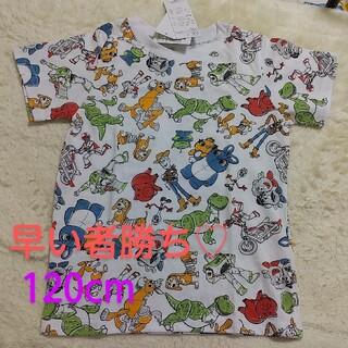 BABYDOLL - トイストーリー 総柄 半袖Tシャツ 120