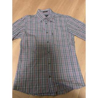 バーバリー(BURBERRY)の最終値下 極美品 バーバリー ノバチェック チェックシャツ(シャツ)