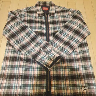 Supreme - シュプリーム supreme 19aw quilted plaid zip up