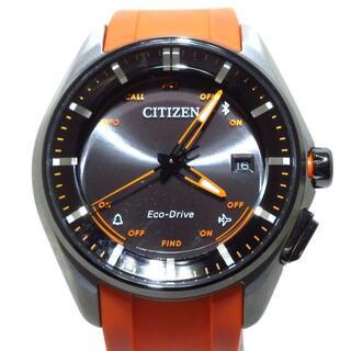 シチズン(CITIZEN)のシチズン エコ・ドライブ W410-S114179 黒(その他)