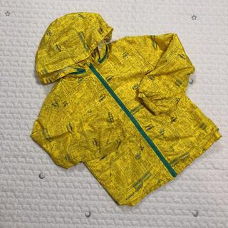 mou jon jon - ムージョンジョン   ウィンドブレーカー  黄色 乗り物 120
