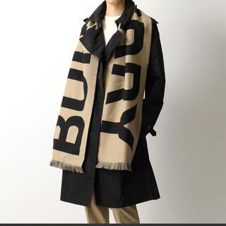 BURBERRY - BURBERRY♡ロゴウールスカーフ