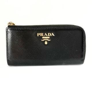 PRADA - プラダ - 黒 キーリング付き/L字ファスナー