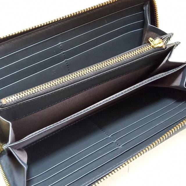 agnes b.(アニエスベー)のアニエスベー - 黒×ゴールド レザー レディースのファッション小物(財布)の商品写真
