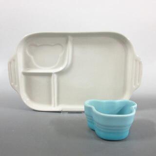 ルクルーゼ(LE CREUSET)のルクルーゼ新品同様  - ライトブルー 陶器(その他)