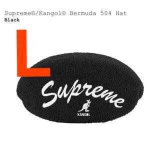 シュプリーム(Supreme)のsupreme kangol bermuda 504 hat L キャスケット(ハンチング/ベレー帽)
