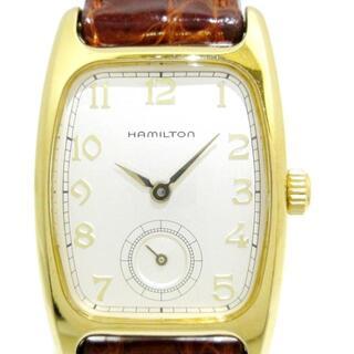ハミルトン(Hamilton)のハミルトン - 6264 レディース 型押し加工(腕時計)