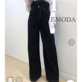 EMODA - EMODA♦ワイドデニム