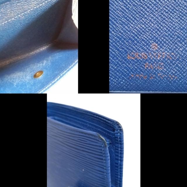 LOUIS VUITTON(ルイヴィトン)のルイヴィトン エピ ポルトビエコンパクト レディースのファッション小物(財布)の商品写真