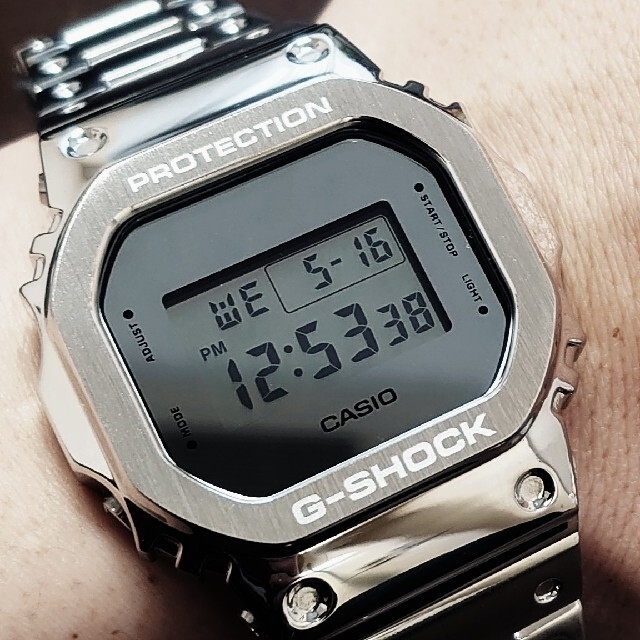 G-SHOCK(ジーショック)のカシオジーショックCACIO G-SHOCK DW-5600BBMA フルメタル メンズの時計(腕時計(デジタル))の商品写真