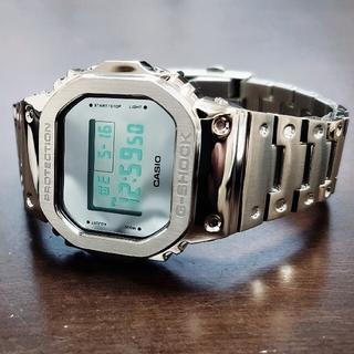 G-SHOCK - カシオジーショックCACIO G-SHOCK DW-5600BBMA フルメタル