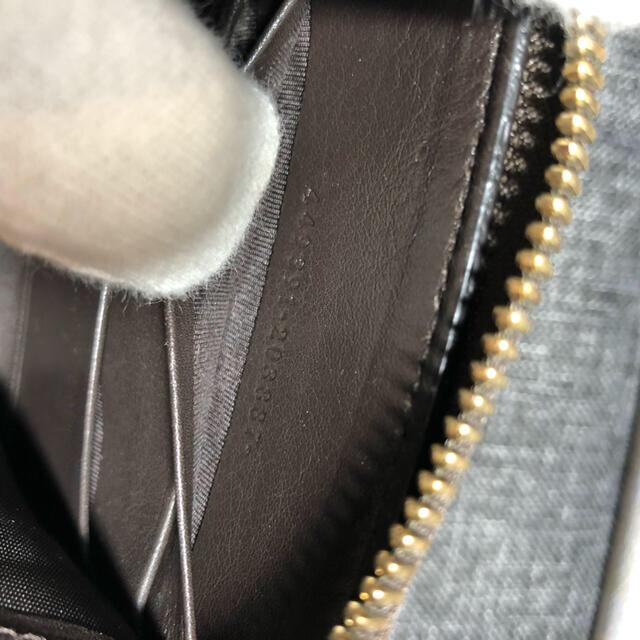 Gucci(グッチ)の最終値下げ GUCCI ブラウン マイクロGG ラウンドジップ長財布 メンズのファッション小物(長財布)の商品写真