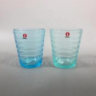 イッタラ(iittala)のイッタラ新品同様  シマライン ガラス(グラス/カップ)