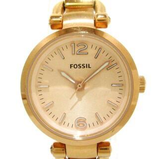 フォッシル(FOSSIL)のフォッシル美品  - ES3268 レディース(腕時計)