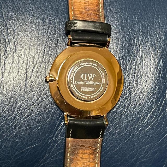 Daniel Wellington(ダニエルウェリントン)のダニエルウェリントン 時計 メンズの時計(レザーベルト)の商品写真