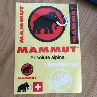 マムート(Mammut)のMAMMUT. ステッカー(登山用品)