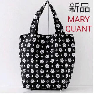 MARY QUANT - 新品 マリークワント エコバッグ デイジー 可愛い 洗濯可 買い物バッグ 大