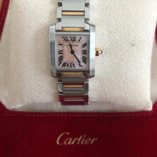 Cartier - カルティエ Cartier タンクフランセーズ 腕時計 K18 PG