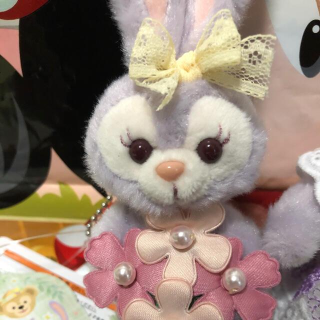 ステラ・ルー(ステラルー)のディズニー スプリングインブルーム ステラルー ぬいば ぬいスト セット エンタメ/ホビーのおもちゃ/ぬいぐるみ(キャラクターグッズ)の商品写真