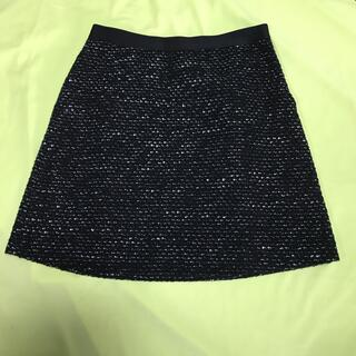 INDIVI - INDIVI 膝丈スカート