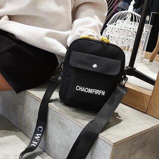 ミニショルダー 肩掛け バック ショルダー ロゴ レディース メンズ 鞄