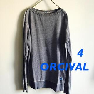 オーシバル(ORCIVAL)のUSED ★ mens  オーシバル ORCIVAL プルオーバー  サイズ4(Tシャツ/カットソー(七分/長袖))