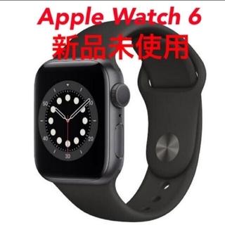 Apple Watch - Apple Watch Series 6 スポーツバンド GPSモデル ブラック