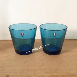 イッタラ(iittala)のグラス ターコイズ(グラス/カップ)
